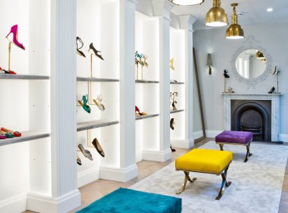 Manolo Blahnik, Burlington Arcade